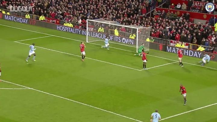 أهداف لا تصدق: سيرجيو أجويرو أمام مانشستر يونايتد