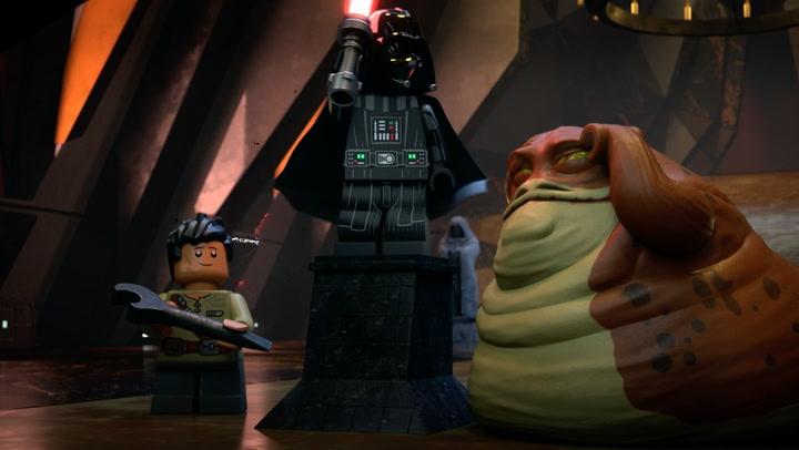 'LEGO Star Wars Terrifying Tales' Clip: Of the Dark Side