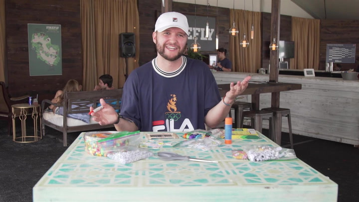 Quinn XCII Teases Debut Album While Making a Popsicle Stick Picture Frame