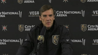Golden Knights President George McPhee talks about Williams Karlsson's 8 year deal