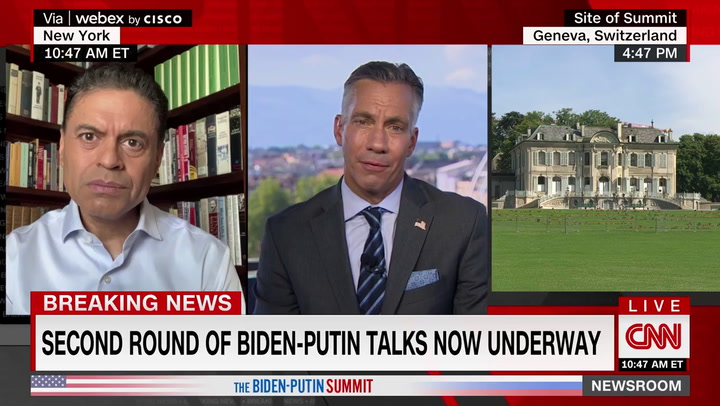 CNN's Zakaria Hits 'Disrupter-in-Chief' Trump, Says Biden Is 'Stabilizing the World'