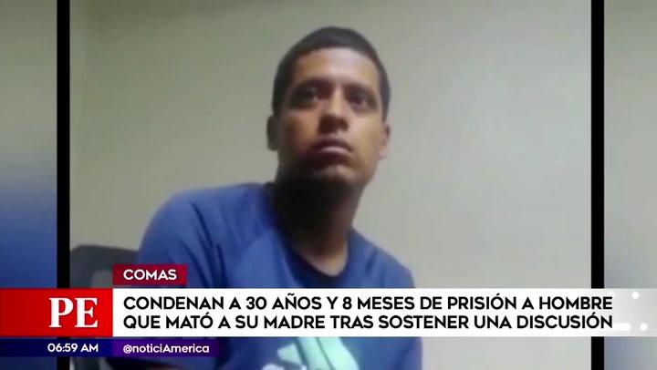 Comas: condenan a joven que asesinó a su madre con el motor de una licuadora