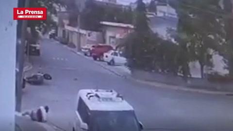 Trágico accidente deja una jovencita muerta en colonia Alameda