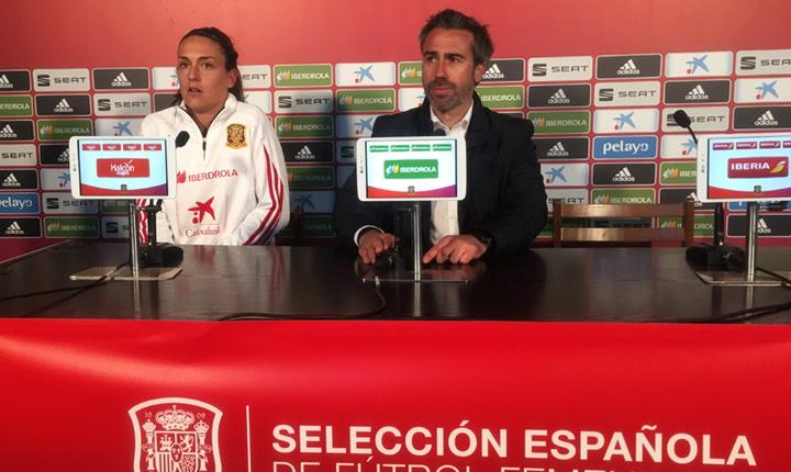 Rueda prensa de Jorge Vilda y Alexia Putellas