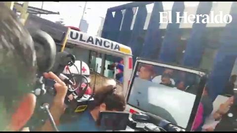 Más de 20 lesionados deja accidente en la carretera sl sur