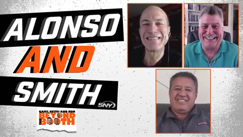 Beyond the Booth Live: If no universal DH, would Mets trade Dominic Smith or Pete Alonso?