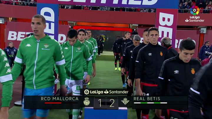 LaLiga (J15): Resumen y goles del Mallorca 1-2 Betis