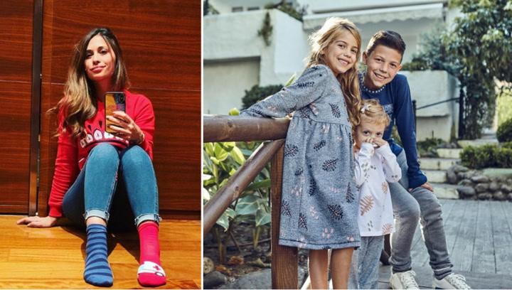 3861bba31 Antonela Rocuzzo lanza su última colección de ropa infantil