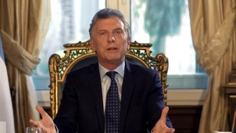 Macri admite magros resultados económicos en balance de su gestión en Argentina