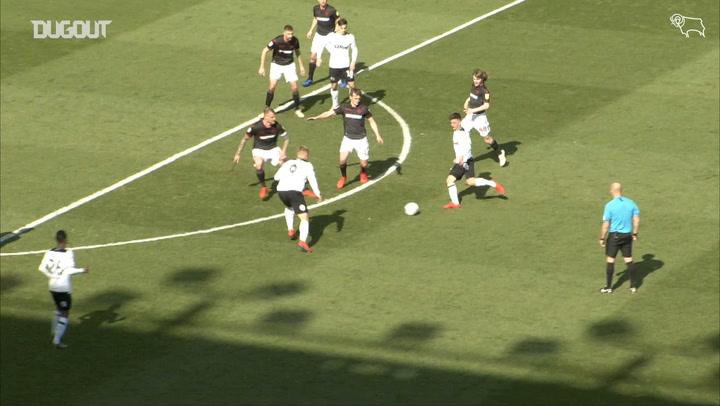 Mason Mount's hat-trick versus Bolton