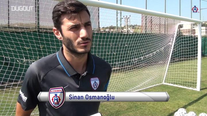 Sinan Osmanoğlu'nun 200.Maçı