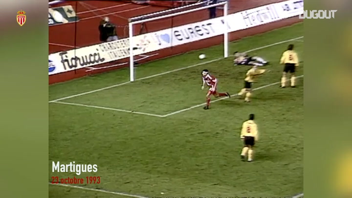 Enzo Scifo's first goal at Monaco