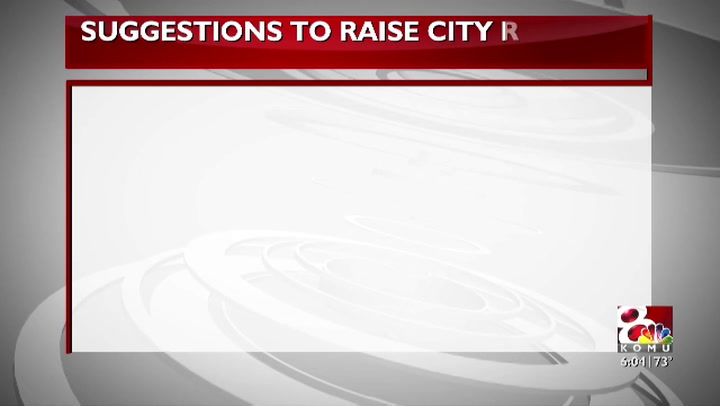 Finance Committee addresses declining city revenue
