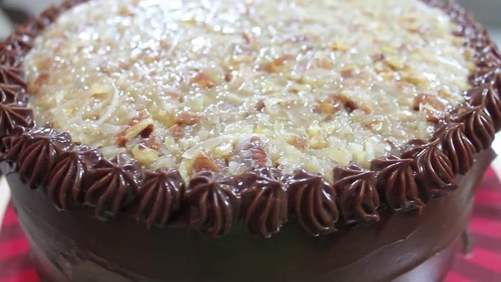 Homemade German Chocolate Cake I Heart Recipes