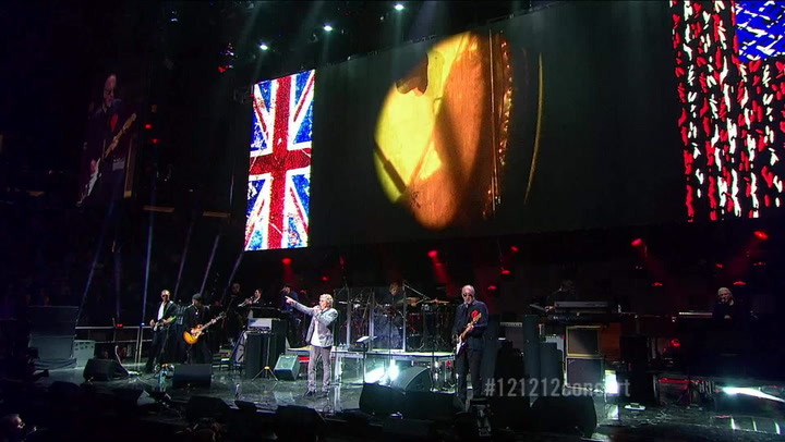 """The Who Perform """"Bell Boy"""" - 12-12-12 The Concert for Sandy Relief"""