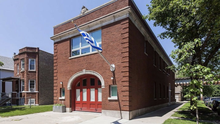 Stylish Converted Firehouse in Chicago Is One Hot Property