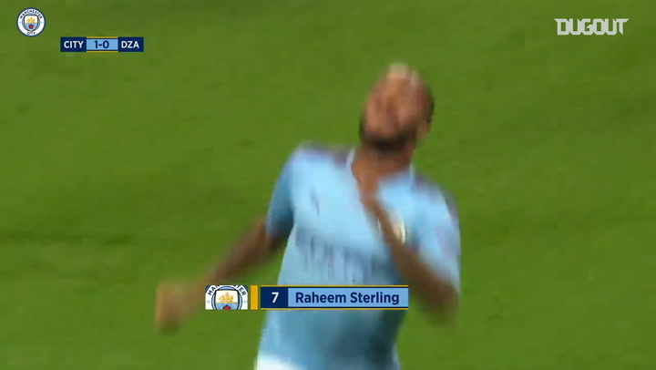 Raheem Sterling opens the scoring against Dinamo Zagreb