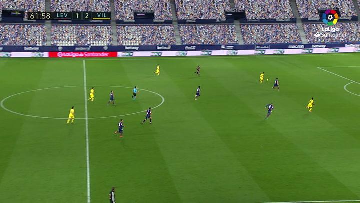Gol de Chukwueze (1-3) en el Levante 1-5 Villarreal