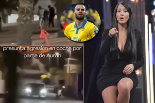 ¿Aurah Ruiz intentó atropellar a Jesé Rodríguez? El video de lo sucedido y lo que admite la modelo