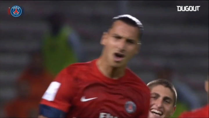 Zlatan Ibrahimović's stunning goals for Paris Saint-Germain