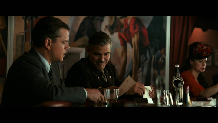 The Monuments Men Preview - 'Aren't You a Little Old for That?'