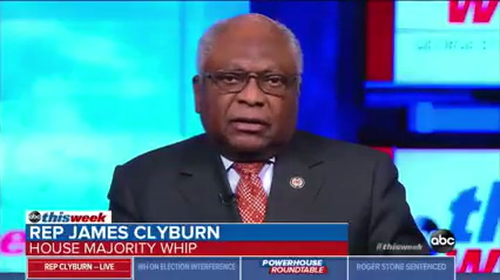 Clyburn: 'Socialist' Sanders a 'Burden' that Could Put Dem House in Danger