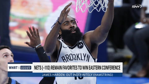 With James Harden out indefinitely, can Nets still finish first in East? | What Are The Odds?