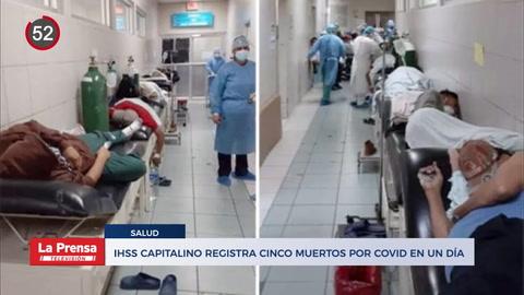 Noticiero: A punto del colapso de sus salas, IHSS en Tegucigalpa