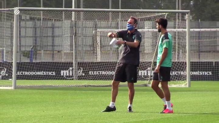 Vicente Moreno ya manda en el Espanyol