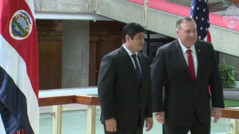 Pompeo presiona a Venezuela y Nicaragua por elecciones libres y democracia