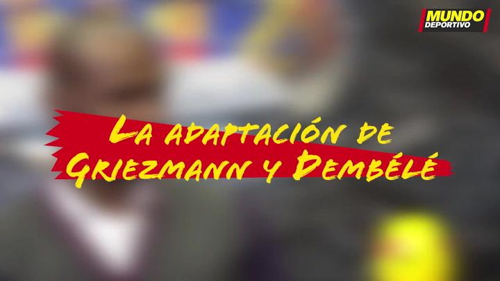 Entrevista Éric Abidal: La adaptación de Griezmann y Dembélé