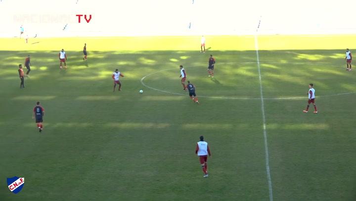 Nacional's first game back
