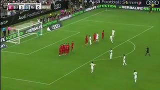 Golazo brutal: Rodrygo Goes se luce en su debut con Real Madrid ¡Con 18 años!