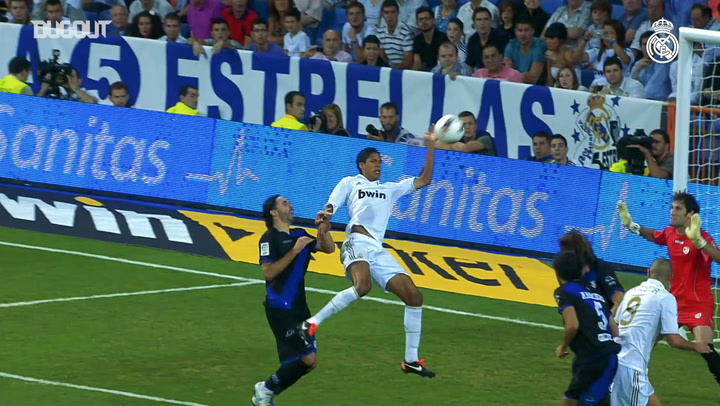 The best of Varane at Real Madrid