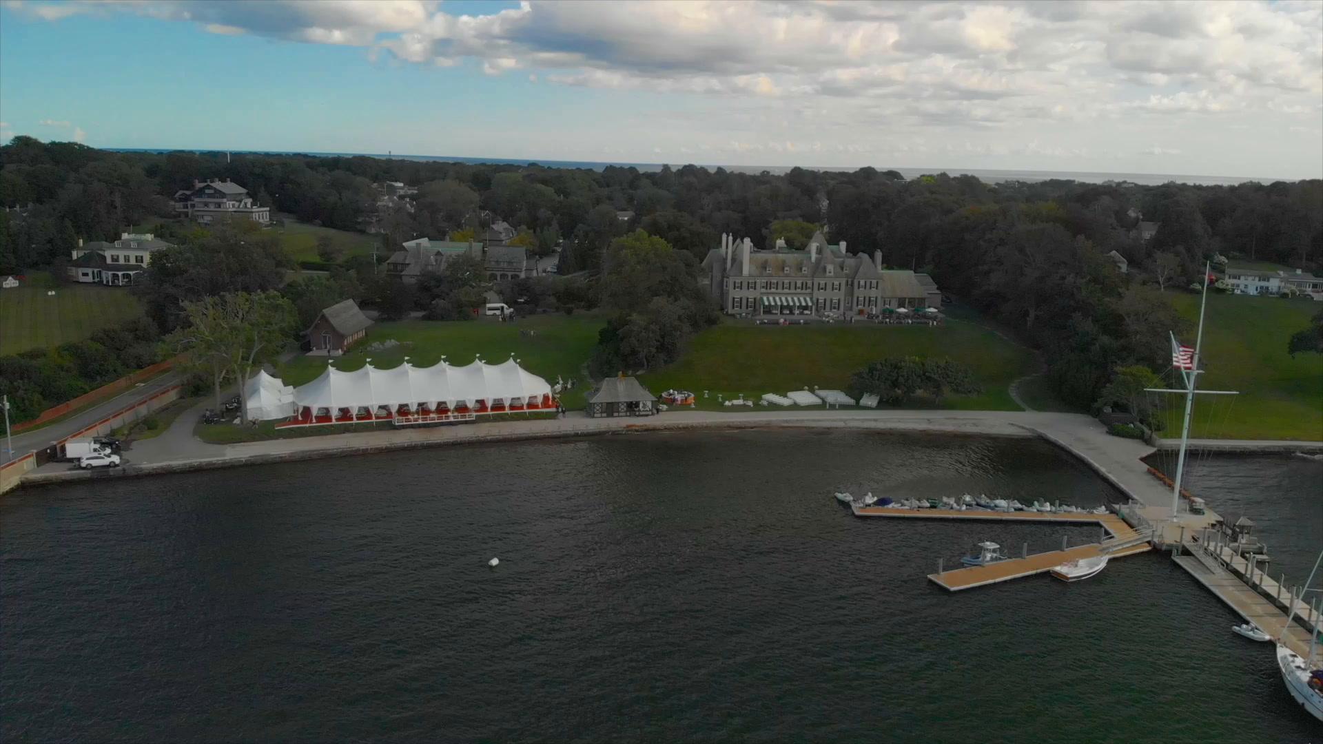 Sarah + Tommy | Newport, Rhode Island | New York Yacht Club