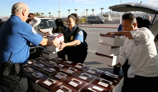 MGM delivers 700 meals to TSA workers at McCarran