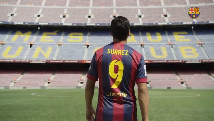 Luis Suárez, un 9 de leyenda