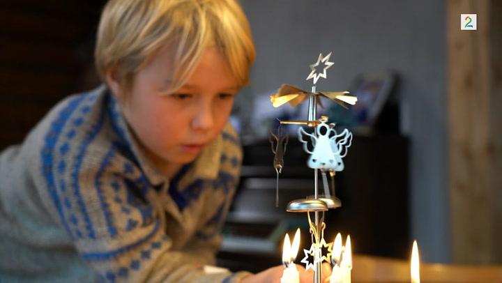 Thorvald gjør seg klar til jul på Oiii-gården