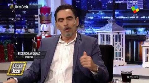 Andahazi dijo que con Maldonado se fabricó un desaparecido