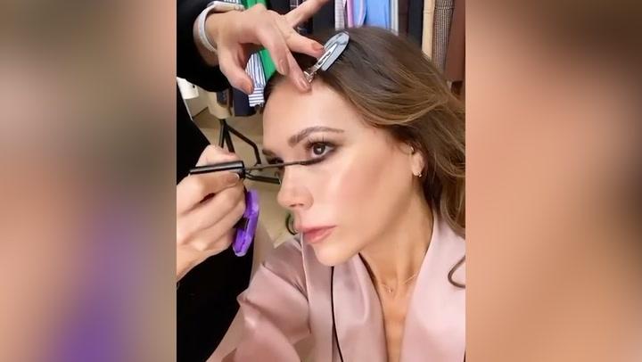 El truco de maquillaje de Victoria Beckham