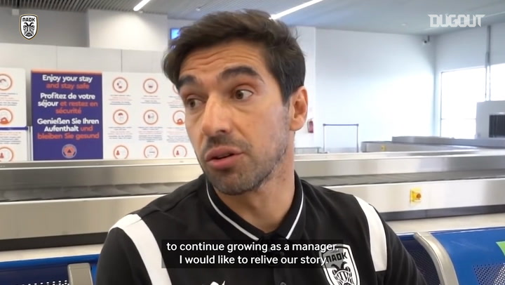 Abel Ferreira says farewell to PAOK