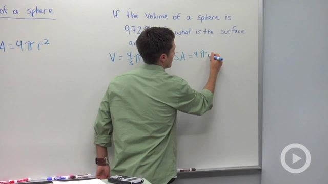 Surface Area of Spheres - Problem 2
