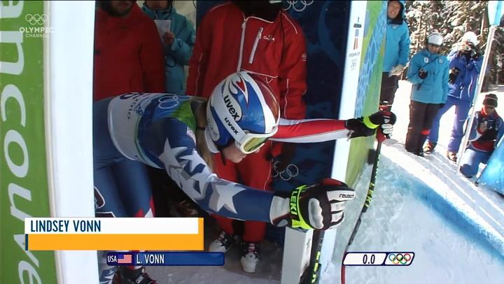 Los mejores momentos de la campeona olímpica Lindsey Vonn