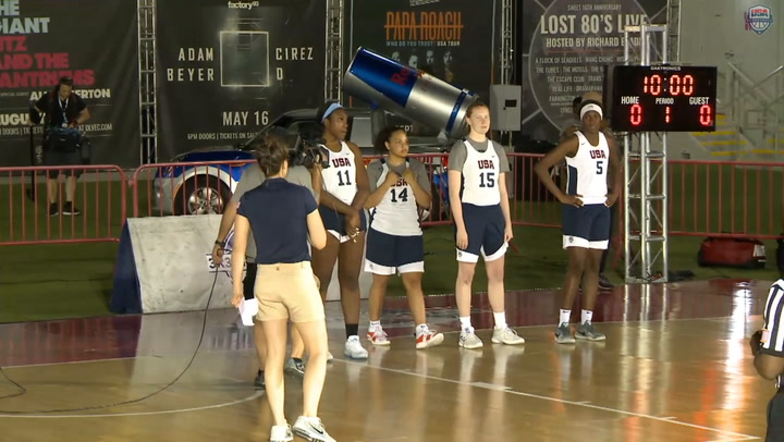 WOMEN's FINAL:  RED BULL USA BASKETBALL 3X3 NATIONALS