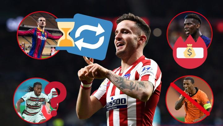 La afición del Atlético quiere que Saúl se quede