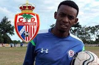 Delantero cubano Maykel Reyes sería el nuevo fichaje de Real Sociedad de Tocoa