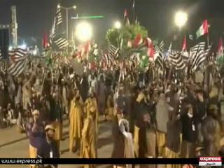اسلام آباد ، 2 ہفتے بعد جے یو آئی ف کا دھرنا ختم ۔۔۔