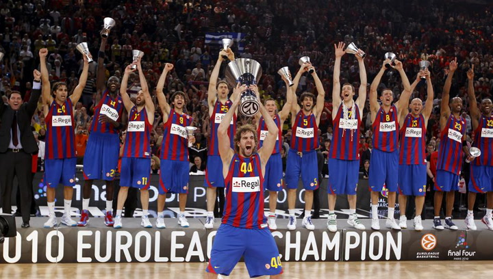 Final de la Euroliga 2010 Barça-Olympiacos