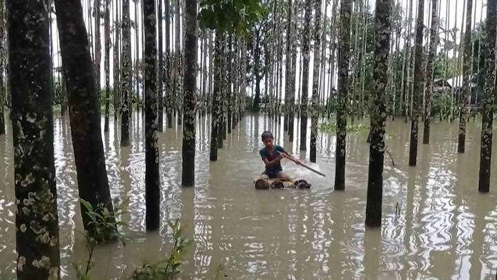At least 20 killed by intense flooding in Bangladesh