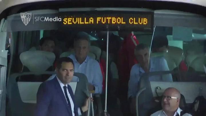 El Sevilla, sin Mercado ni Promes a Madrid
